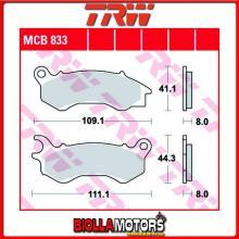 MCB833LC PASTIGLIE FRENO ANTERIORE TRW Peugeot 50 DjangoEvasion,Allure,Sport 2014- [ORGANICA- LC]