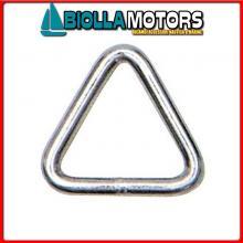 0236388 ANELLO TRIANGLE D8 INOX Anello Triangolo