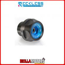Y02TM01XB TAPPO CARICO OLIO RECKLESS NERO/BLU YAMAHA T-MAX T MAX TMAX 59C SP ABS 530 2015-2016 SCOOTER E MOTO
