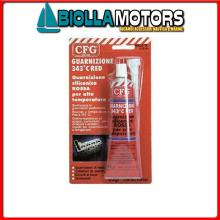 5726121 GUARNIZIONE SILICONICA CFG 85G RED Guarnizione Red Gasket 343°C