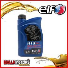 214024 1 LITRO OLIO ELF HTX 740 2T 75W 100% SINTETICO