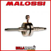 539592 ALBERO MOTORE MALOSSI RHQ APRILIA HABANA 50 2T SP. D. 10 CORSA 37,3 MM -