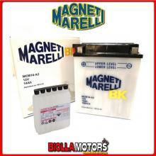 MOB14-A2 BATTERIA MAGNETI MARELLI YB14-A2 CON ACIDO YB14A2 MOTO SCOOTER QUAD CROSS