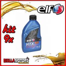 KIT 9X LITRO OLIO ELF HTX 909 2T MISCELA - 9x 155877