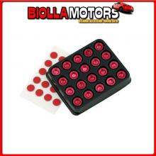 02228 PILOT TUNING DECOR BOLTS - ROSSO