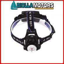 2114703 TORCIA LED ALU BLACK 135< Torcia 10W CREE LED Power AL