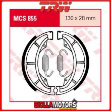MCS855 GANASCE FRENO POSTERIORE TRW Hyosung GV 125 Aquila 2000-2008 [ORGANICA- ]