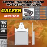 FD152G1054 PASTIGLIE FRENO GALFER ORGANICHE POSTERIORI CAGIVA SUPER CITY 80 92-