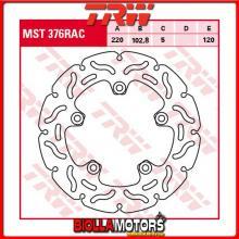 MST376RAC DISCO FRENO POSTERIORE TRW Aprilia RSV 1000 Mille 1998-2000 [RIGIDO - CON CONTOUR]