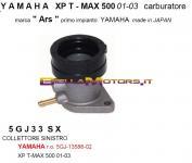 5GJ33SX COLLETTORE ASPIRAZIONE SX TMAX 01-03