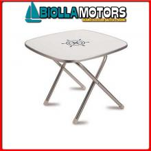 0840614 TAVOLINO SQUARE FORMA 60X60 Tavolini Pieghevoli Forma Deck Service