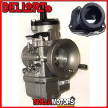 BR-54+06808 CARBURATORE DELLORTO PHBE 30 HS + COLLETTORE INCLINATO ROTAX 122