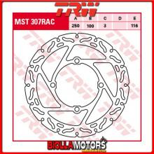 MST307RAC DISCO FRENO ANTERIORE TRW Suzuki RM-Z 250 2004-2006 [RIGIDO - CON CONTOUR]
