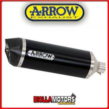 71744AKN MARMITTA ARROW RACE-TECH APRILIA TUONO V4 1100 RR 2015-2016 DARK/CARBONIO