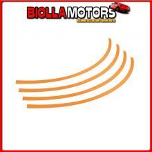 30782 PILOT RIM-STICKERS, PROFILI ADESIVI RUOTA - TAGLIA 1 - ARANCIO