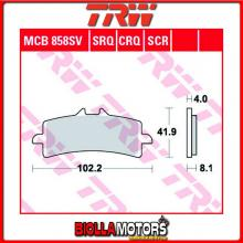 MCB858SV PASTIGLIE FRENO ANTERIORE TRW Ducati 1200 Diavel 2011-2016 [ORGANICA- ]