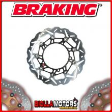 WK121R DISCO FRENO ANTERIORE DX BRAKING KTM LC8 ADVENTURE ABS 990cc 2006-2012 WAVE FLOTTANTE