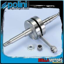 210.0022 ALBERO MOTORE POLINI MBK NITRO 50 H2O BIELLA 85 - SP.12 - CORSA 39,2 Per variatore con spinotto da d.16mm