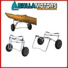 2802223 CARRELLO FOLDING Carrello Porta Canoe