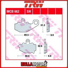 MCB662 PASTIGLIE FRENO POSTERIORE TRW Kawasaki ZR 400 G 1996-2001 [ORGANICA- ]