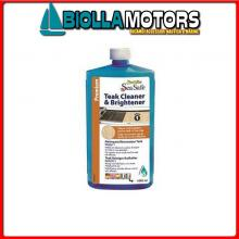 5735213 TEAK CLEANER/BRIGHTNER SEA SAFE 3.79LT< Star Brite 100% Sea Safe Teak Cleaner & Brightener