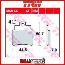 MCB732SI PASTIGLIE FRENO POSTERIORE TRW Kymco 250 MXU 2004- [ORGANICA- ]