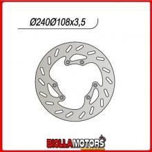 659152 DISCO FRENO ANTERIORE NG MOTOR HISPANIA Furia Euro 1 50CC 2002 152 2401251084