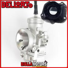 BR-61+09303 CARBURATORE DELLORTO VHSH 30 CS + COLLETTORE DRITTO ROTAX 122