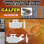 FD315G1054 PASTIGLIE FRENO GALFER ORGANICHE POSTERIORI CAN-AM OUTLANDER 800 MAX STD/XT DER./RIGHT 07-
