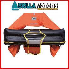 2901244 ZATTERA EV 4P ABS ISO9650 ITALY Zattera di Salvataggio Oceanic-Italia 9650 Eurovinil