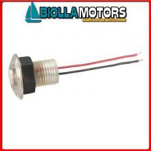 2145762 LUCE CORTESIA FLUSH CLEAR LED D38 Luce di Cortesia LED-12V Flush Clear