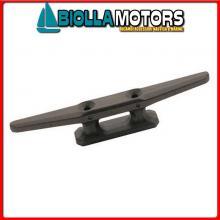 1111418 GALLOCCIA 180 BLACK Bitta Flat in Plastica Nera