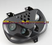 465487 MASK FRONT 4 OPTICK carbonio- Booster Spirit