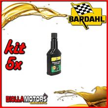 KIT 5X 150ML BARDAHL OCTANE BOOSTER MOTORCYCLE ADDITIVO CARBURANTE 150ML - 5x 104011