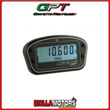 RPM2010 CONTAGIRI CONTAORE TEMPERATURA MOTORE 2T/4T GPT UNIVERSALE MOTO RETROILLUMINATO