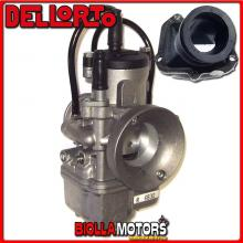 BR-54+06830 CARBURATORE DELLORTO PHBE 32 HS + COLLETTORE INCLINATO ROTAX 122