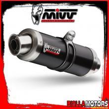 H.035.LXB ESCAPE FULL 1x1 MIVV HONDA SH 125 2002-2012 125CC GP INOX DARK/INOX STANDARD