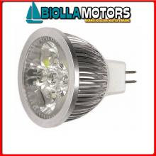 2167508 LAMPADINA FARETTO LED G5.3 12/24V MR16 Lampadina Faretto Power LED G5,3 12V