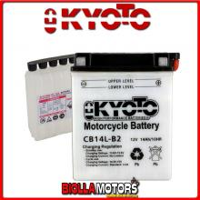 712147 BATTERIA KYOTO YB14L-B2 [SENZA ACIDO] YB14LB2 MOTO SCOOTER QUAD CROSS [SENZA ACIDO]