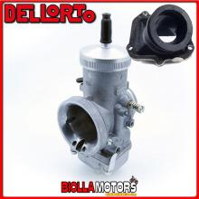BR-54+09803 CARBURATORE DELLORTO VHSB 36 RD + COLLETTORE INCLINATO ROTAX 122