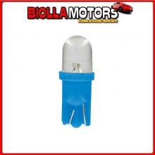 98342 LAMPA 24V MICRO LAMPADA 1 LED - (T10) - W2,1X9,5D - 2 PZ - SCATOLA - BLU