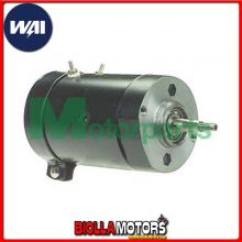 15410BN ALTERNATORE WAI Harley Davidson XLX-61 1983-1984 1000cc To Mid 1984, w/Buffed End Cover, Black Finish