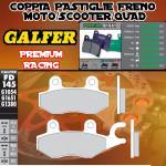 FD145G1651 PASTIGLIE FRENO GALFER PREMIUM ANTERIORI SYM XS 125 K 07-