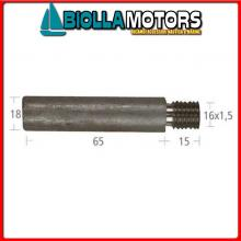 5127013 ANODO BARROTTO Barrotto Motore Cummins (18x65mm)