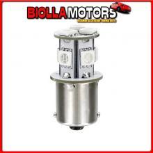 98335 LAMPA 24/28V HYPER-LED 24 - 8 SMD X 3 CHIPS - (P21W) - BA15S - 1 PZ - D/BLISTER - ARANCIO - DOPPIA POLARIT?