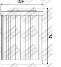 100609585 COF052 FILTRO OLIO BOMBARDIER 330 Outlander 330 H.O. 2x4, 4x4 04-06 (X312)