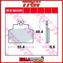 MCB886SRM PASTIGLIE FRENO ANTERIORE TRW Piaggio 300 MP3 LT i.e. Business ABS 2014-2015 [ORGANICA- ]