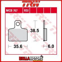 MCB767 PASTIGLIE FRENO ANTERIORE TRW Sachs 125 Dirty Devil 2008- [ORGANICA- ]