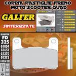 FD325G1375 PASTIGLIE FRENO GALFER SINTERIZZATE ANTERIORI KAWASAKI Z 1000 SX 11-