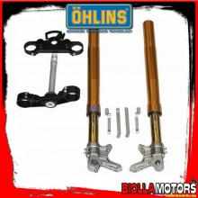 FGAG1300 FORCELLA OHLINS YAMAHA T-MAX 530 2012-14 R&T 43 + PIASTRE